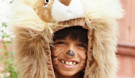 Einmal im Leben ein Löwe sein... Tierkostüm am Kindergeburtstag