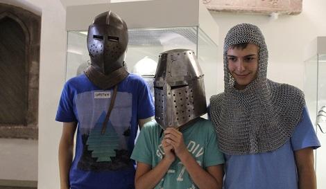 Drei stattliche Ritter