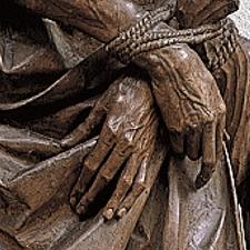 Heilige Sebastian Detail
