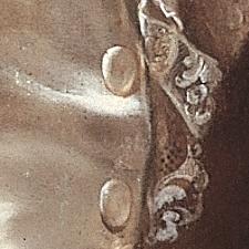 Portrait Franz Ludwig von Erthal Detail