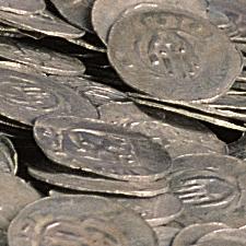 Münzfund von Röttingen Detail