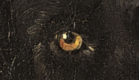 Portrait Philipp Freiherr von Bechtolsheim Detail