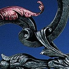Prunkschlüssel Detail
