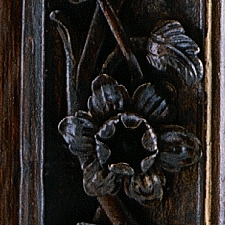 Eisentruhe Detail