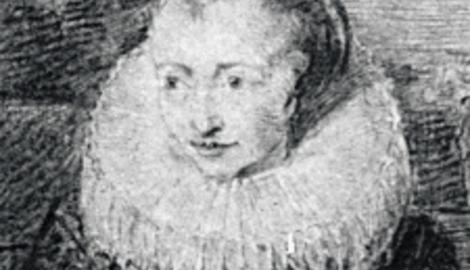 Familienportrait Zeichnung Detail