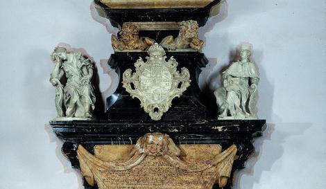 Epitaph für Friedrich Karl von Schönborn Detail