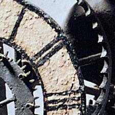 Türmeruhr Detail