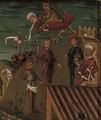 Martyrium des Heiligen Kilian und seiner Gefährten Detail
