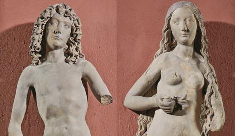 Adam und Eva, Tilman Riemenschneider, 1491/93
