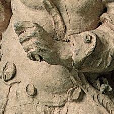 Christus vor Pilatus Detail